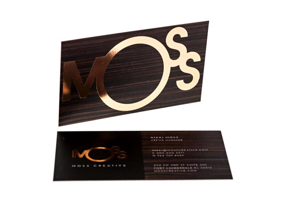 business-card-moss-creative-agency