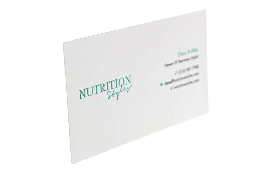 business-card-nutrition-styles