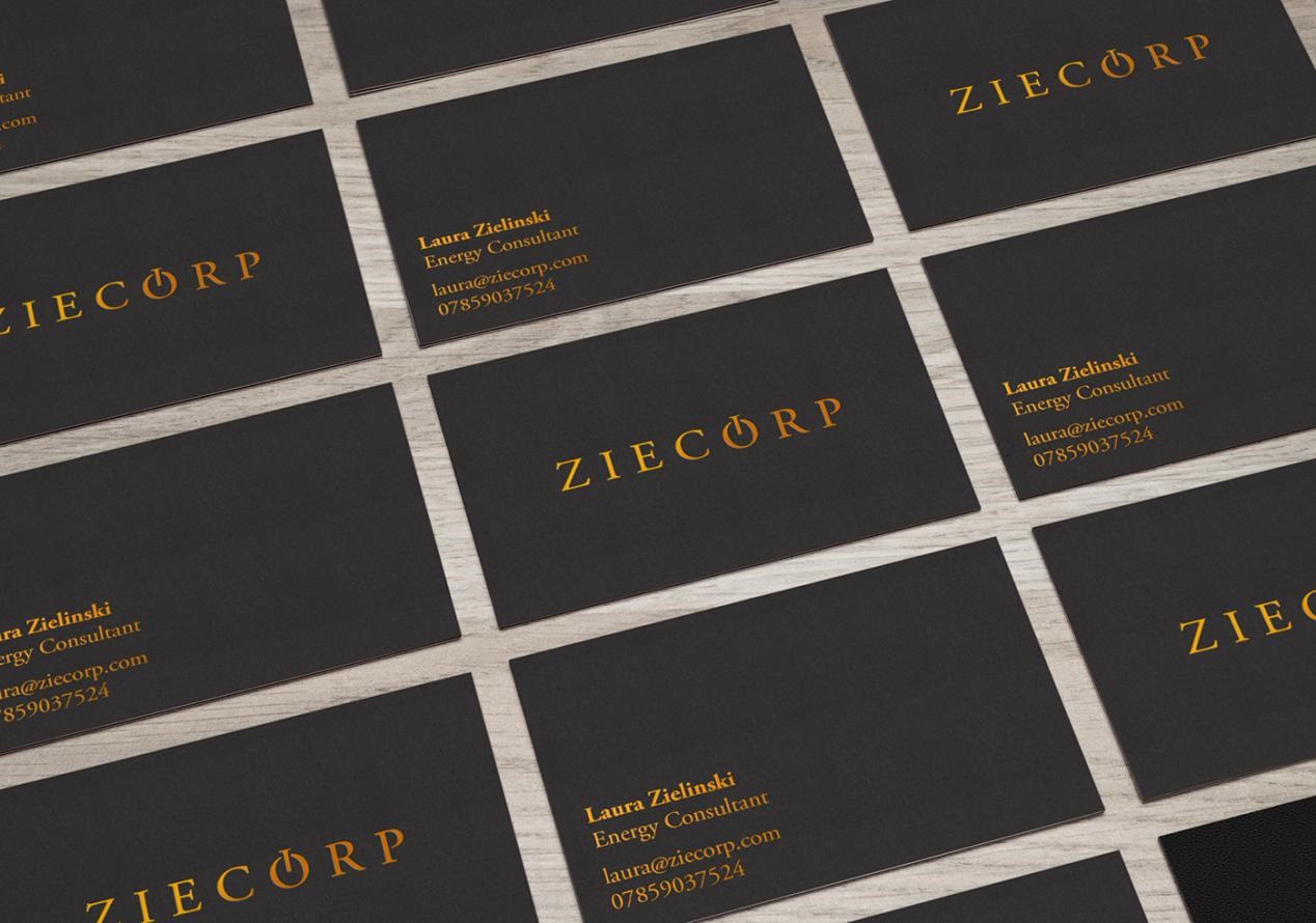 Foil Stamping - How to Design A Business Card