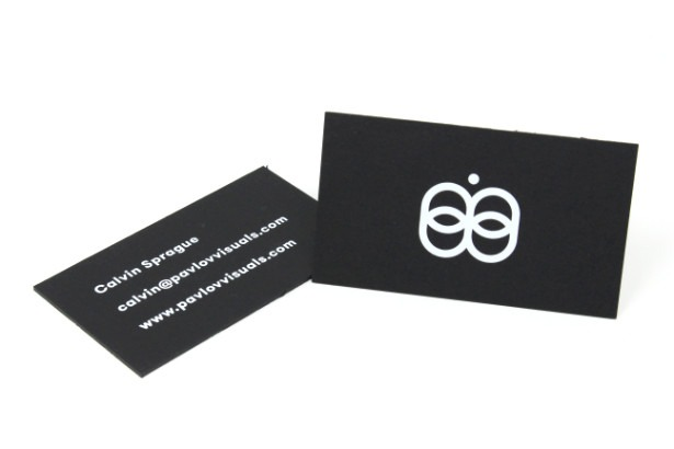 black-business-card-white-ink