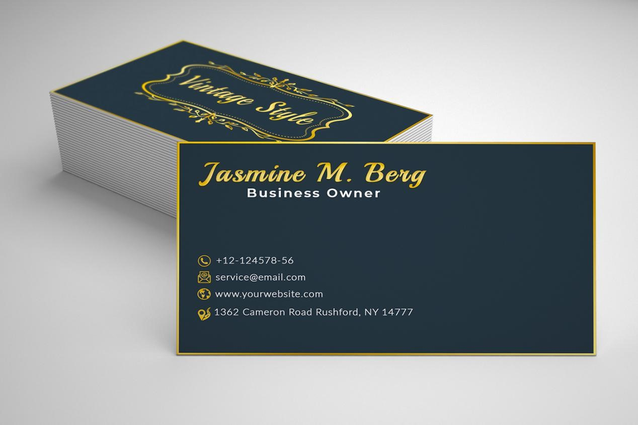 choosing text - How to Design A Business Card