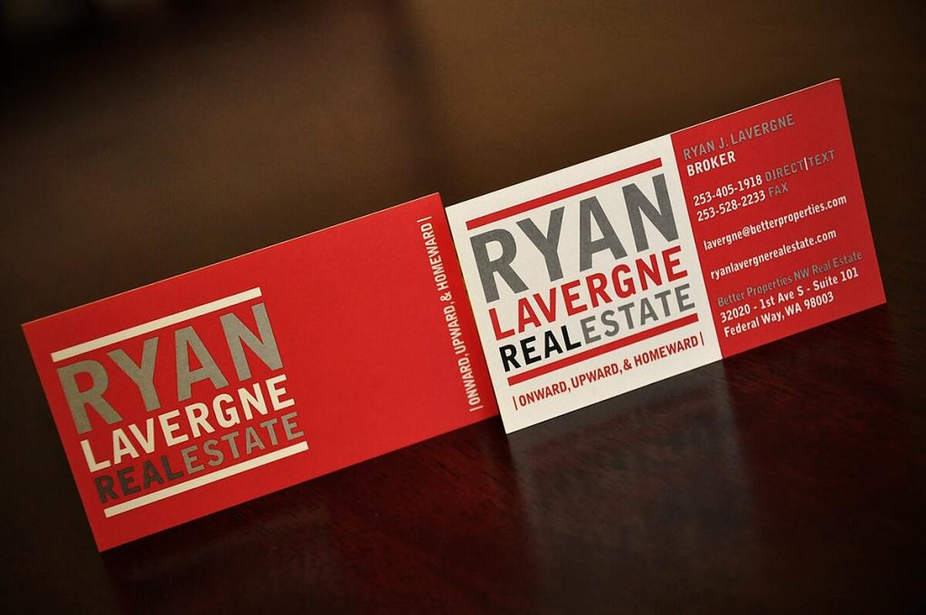 real estate business cards, Top 10 Creative Real Estate Business Cards – Be Inspired!, Print Peppermint