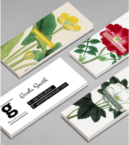 Here Are 10 of Our Favorite Mini Business Card Design Picks, Print Peppermint